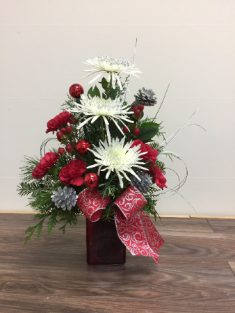 Christmas sparkle Christmas arrangement
