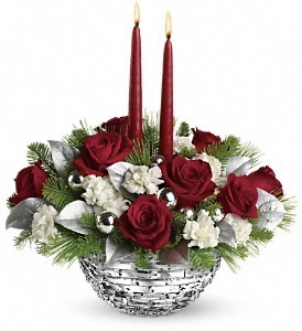 HOLIDAY SPARKLES  DX TABLE TOP CENTERPIECE