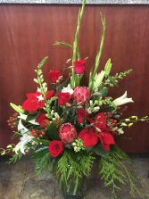 Christmas Spectacular  Vase Arrangement