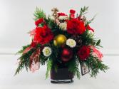 Christmas Spice  Container Arrangement