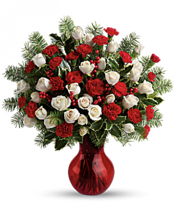 Christmas Spirit Vase Christmas Arrangement