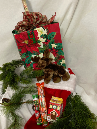 Christmas Stocking in A Gift Bag! Gift