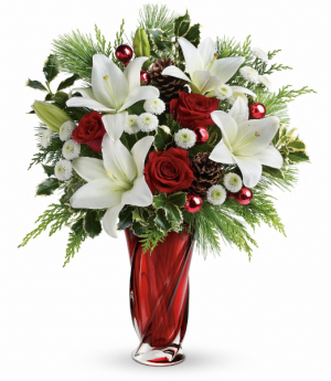 Christmas Swirl   in Oakville, ON | ANN'S FLOWER BOUTIQUE-Wedding & Event Florist