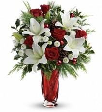 Christmas Swirl Bouquet