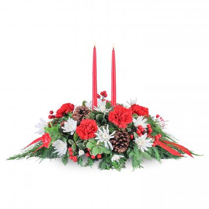 Christmas Table Arrangements Flowers.Creative Occasions Events Flowers Gifts