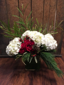 Christmas Tale table arrangement