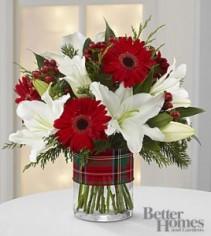 Christmas Tartan Bouquet