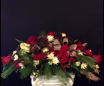 Christmas Time Is Here Centerpiece