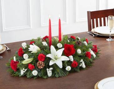 Christmas Traditional Centerpiece