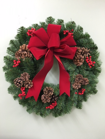 CHRISTMAS TRADITIONS BALSAM WREATH