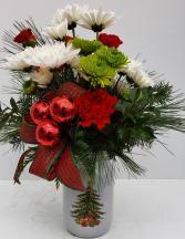 Christmas Traditions  Vase Arrangement