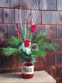 Christmas Treasure Holiday Arrangement