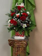 Christmas Tree Arrangement Town South Floral