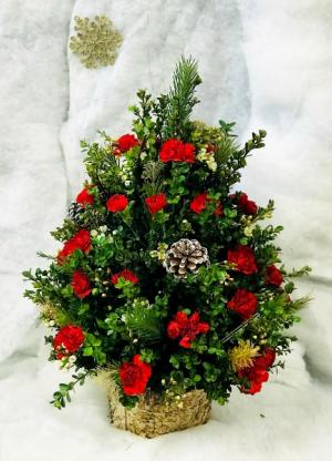 Christmas Tree Arrg.  in Delray Beach, FL | PETERSON'S FLOWER MARKET