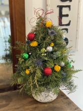 Christmas Tree Christmas Arrangement