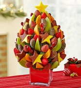 Christmas Tree Fruit Bouquet Fresh Fruit Arrangement