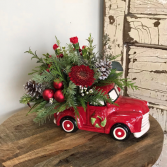 Christmas Truck arrangement
