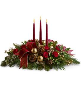 Christmas Wish Centerpeice  in Sherwood Park, AB | SHERWOOD PANDA FLOWERS