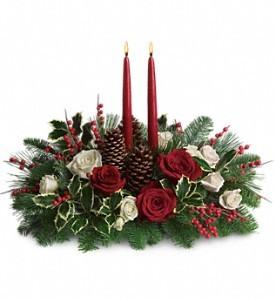 Christmas Wishes Centerpiece in Seguin, TX | DIETZ FLOWER SHOP & TUXEDO RENTAL