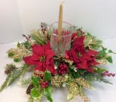 Christmas Wishes Centerpiece Permanent Botanicals