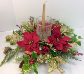 Christmas Wishes Centerpiece Permanent Botanicals