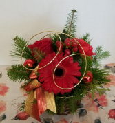 Christmas with a twist Christmas Centerpiece