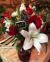 Christmas Wonderland Vase