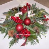 Christmas Woodland table center