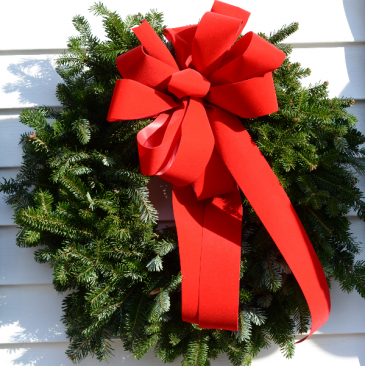 """Christmas Wreath - 24"""" Christmas Greens"""