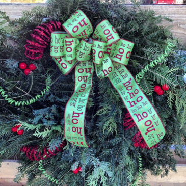 Christmas Wreath Balsam Wreath