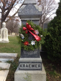 Christmas Wreath Cemetary wreath