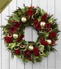 Christmas wreath Christmas