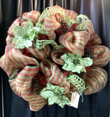 Christmas Wreath Deco Mesh WF-C003 Christmas Wreath