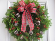 Christmas Wreath Fresh Balsam Wreath