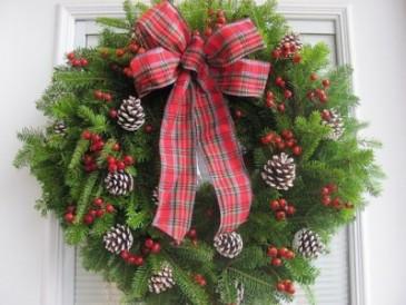Christmas Wreath Fresh Balsam Wreath
