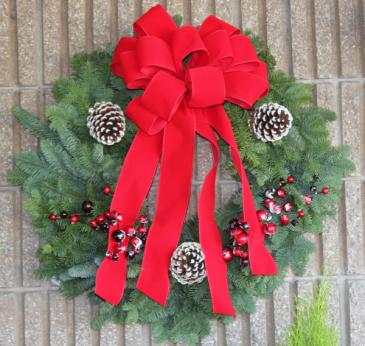 Christmas Wreath Fresh Floral Design