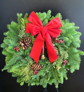 Christmas Wreath Fresh Green Wreath In San Antonio Tx