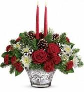 Christmas*Sparkling Star Centerpiece Christmas