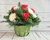 Christmastime Basket