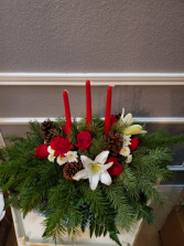 Christmas/Winter Centerpiece Lg