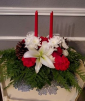 Christmas/Winter Medium Centerpiece