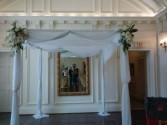 Chuppah Rental In Washington DC Huppah With Flowers Rental In DC VA MD