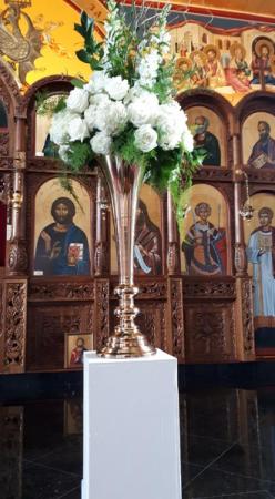 Church Flowers Altar Arrangements In Oakville On Ann S Flower Boutique Wedding Event Florist