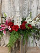CHURCH IN THE WILDWOOD  CENTERPIECE