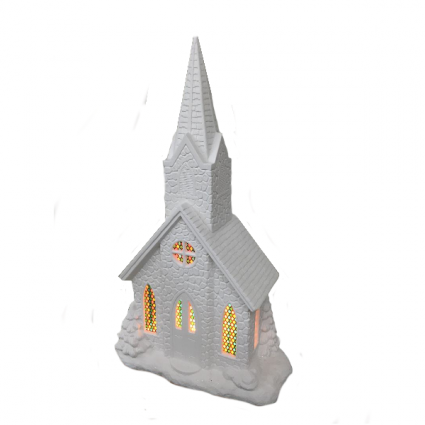 Church (Mantel) Ceramic Gift