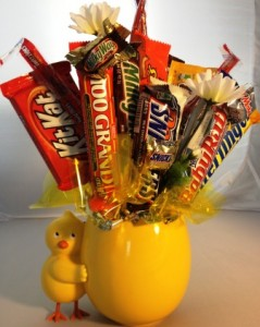 Chickadee Candy Bouquet  in Springfield, IL | FLOWERS BY MARY LOU INC