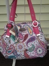 Cindy    dazzle donna sharp quitled purses