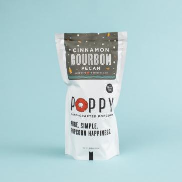 Cinnamon Bourbon Pecan Popcorn