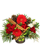 Cinnamon Enchantment Flower Arrangement