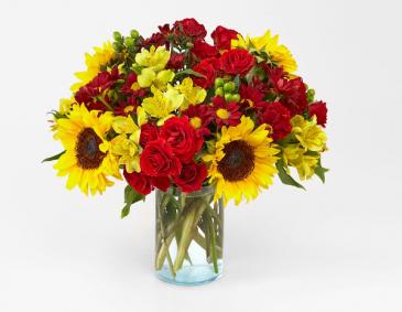 CINNAMON SPICE BOUQUET FALL COLOR FLOWERS